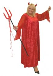 Red Devil Halloween Costume